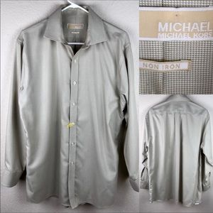 Michael Kors Button Down Shirt. Size 16.5, 32/33.